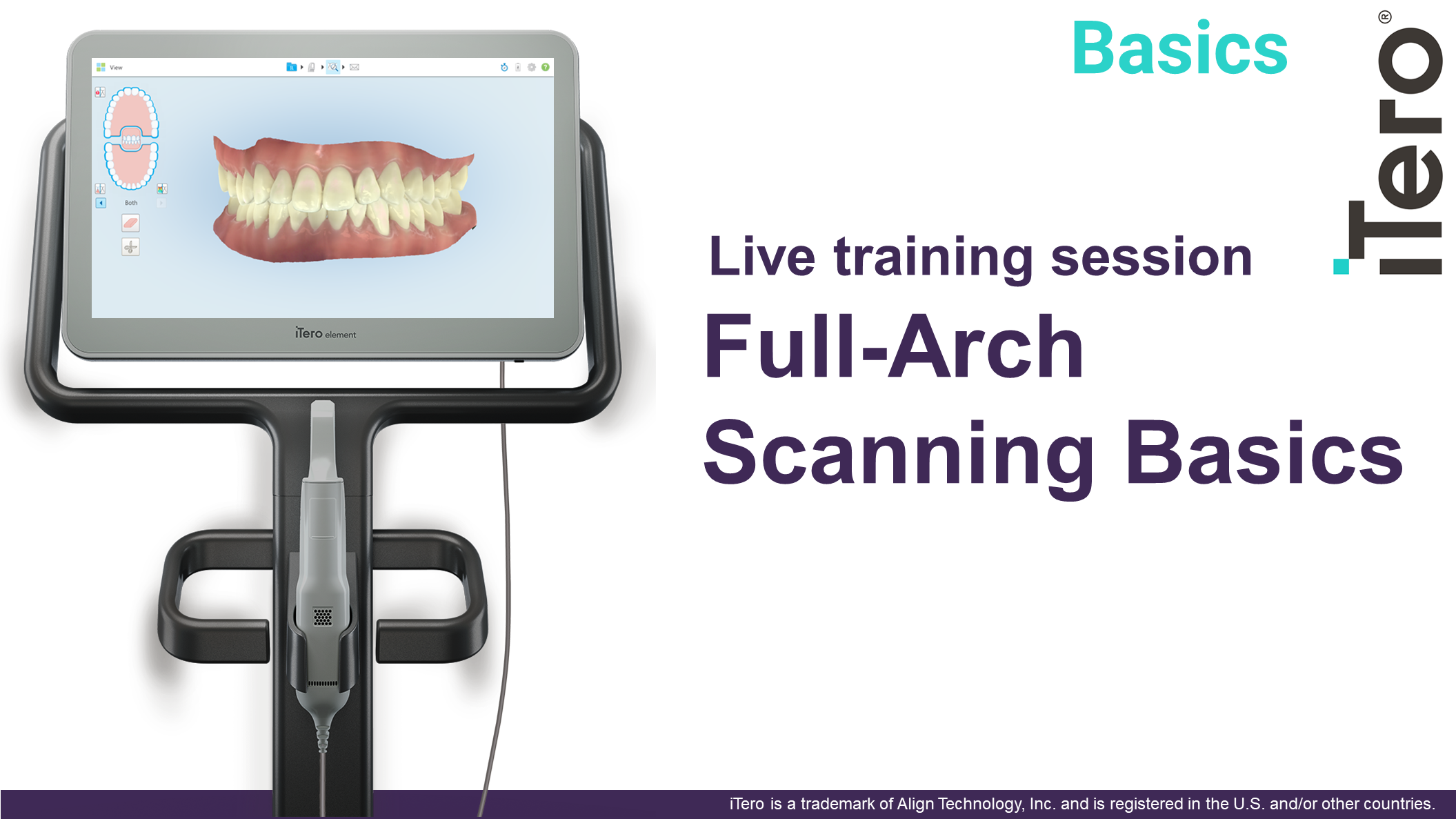 Full Arch Scanning Basics 12pmEDT(11amCT/10amMT/9amPT)