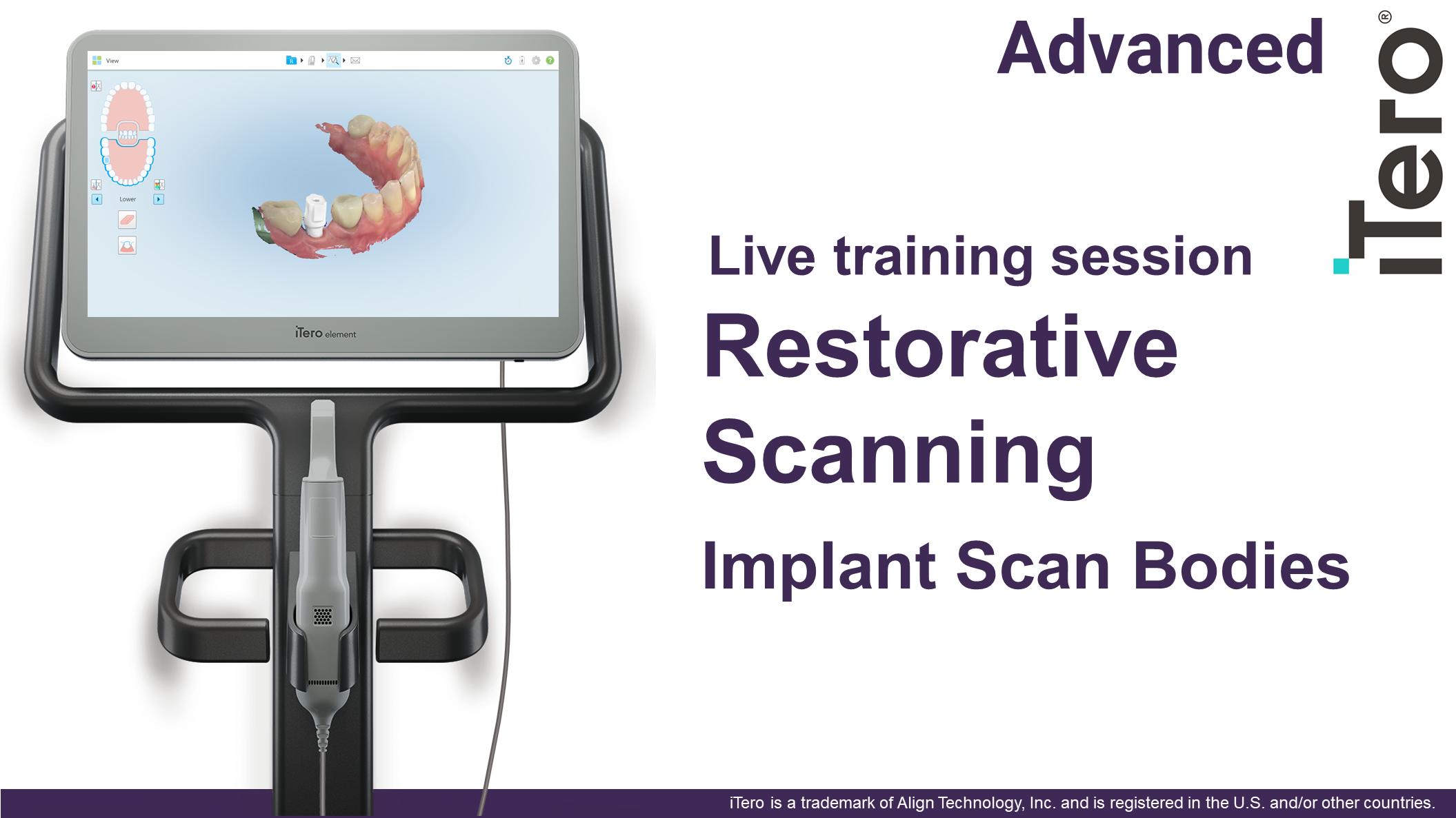 Implant Scan Body Scanning 12pmEDT(11amCT/10amMT/9amPT)