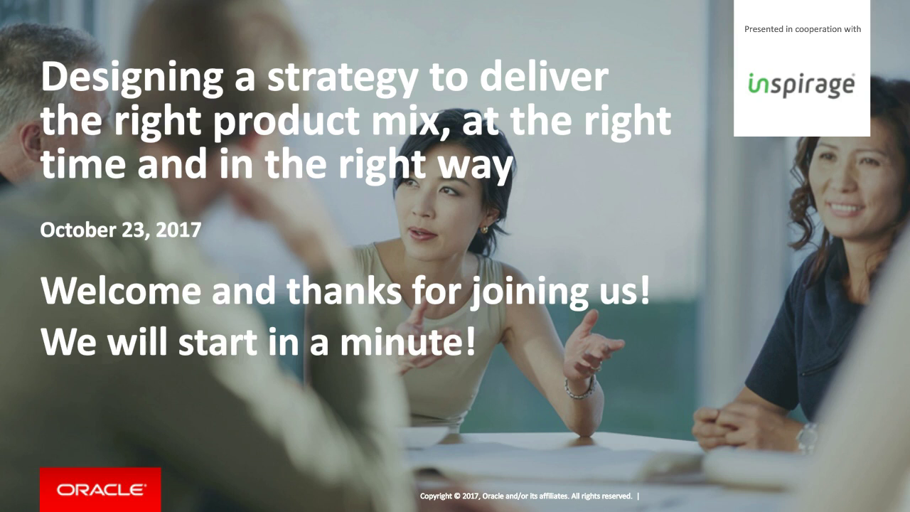 Designing a strategy to deliver the right product