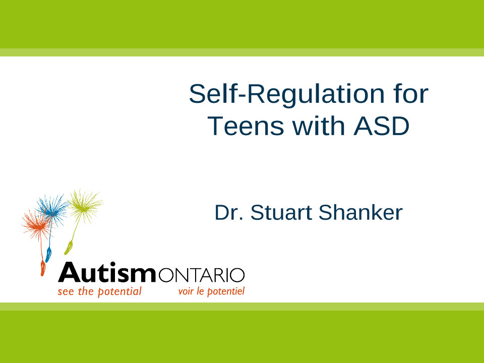 Self-Regulation and Wellbeing - Slides