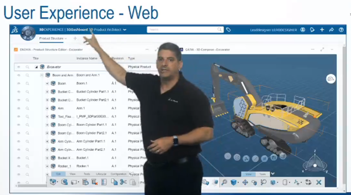 ENOVIA to the MAX: Web-based 3D Product Architecture