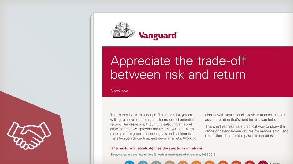 Appreciate the trade-off between risk and return