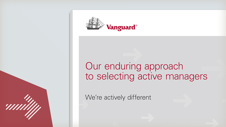 Selecting active managers