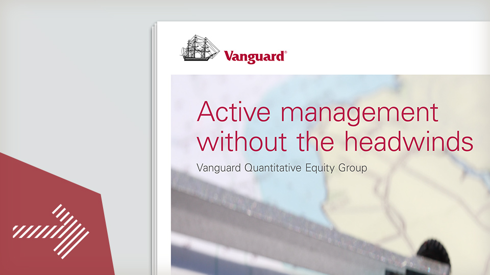 Active management without the headwinds