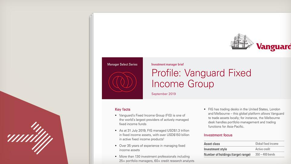 Investment Manager Brief - Vanguard
