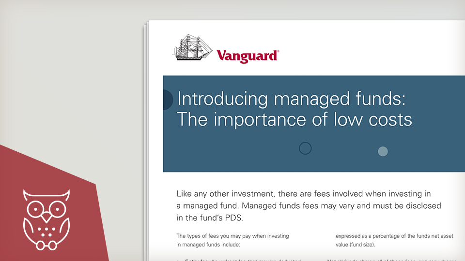 Introducing managed funds - low cost