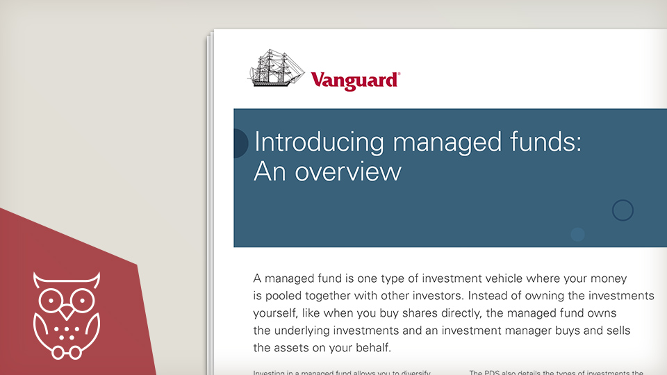 Introducing managed funds - an overview