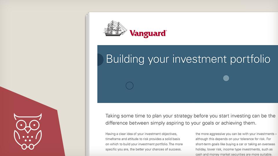 Building your investment portfolio