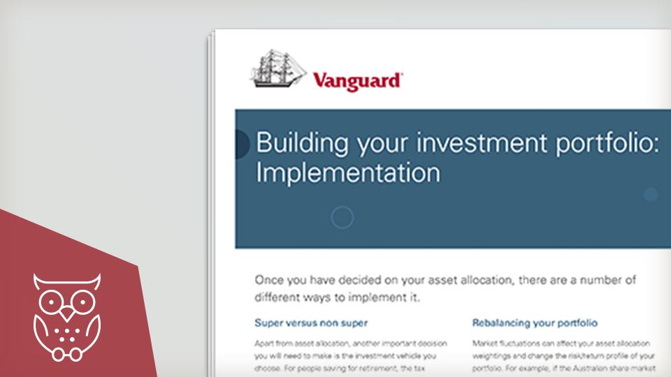 Building your investment portfolio - implementation