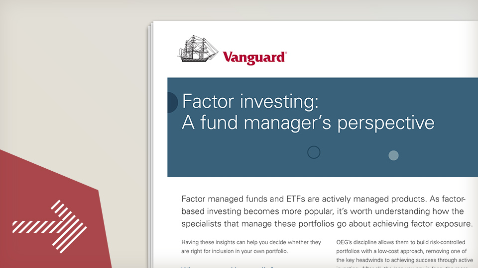 Factors - a fund manager's perspective