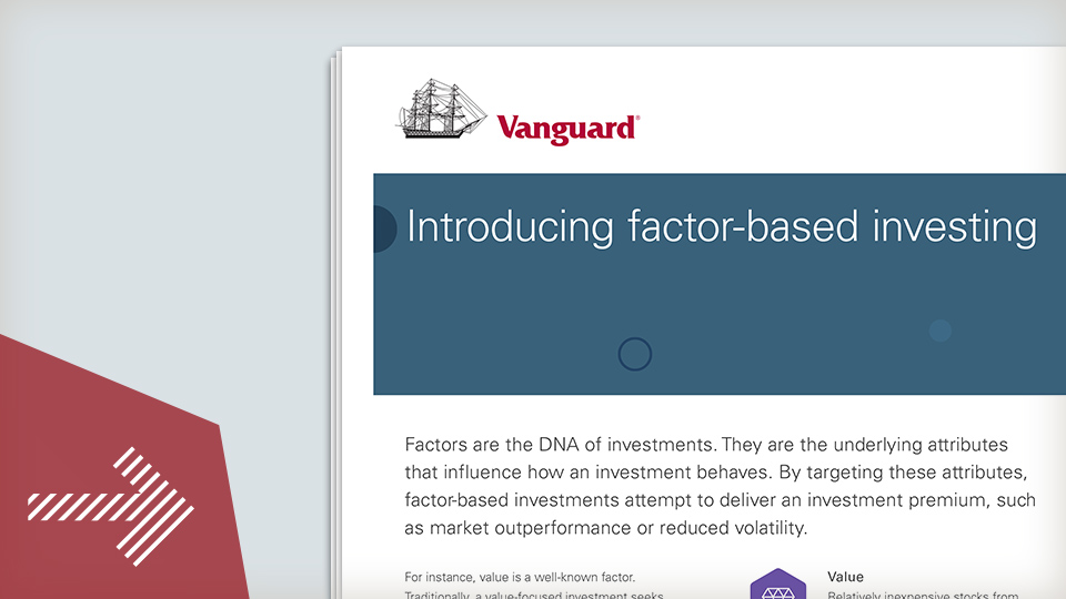 Introducing factor-based investing