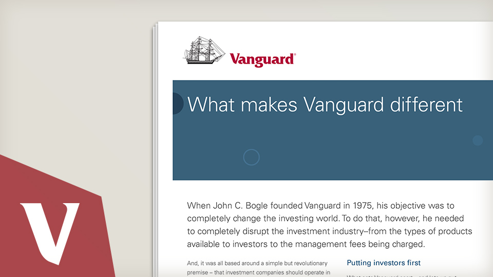 What makes Vanguard different