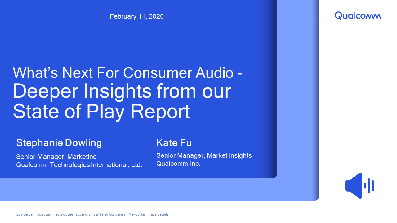 Presentation: Deeper Insights from our State of Play Report