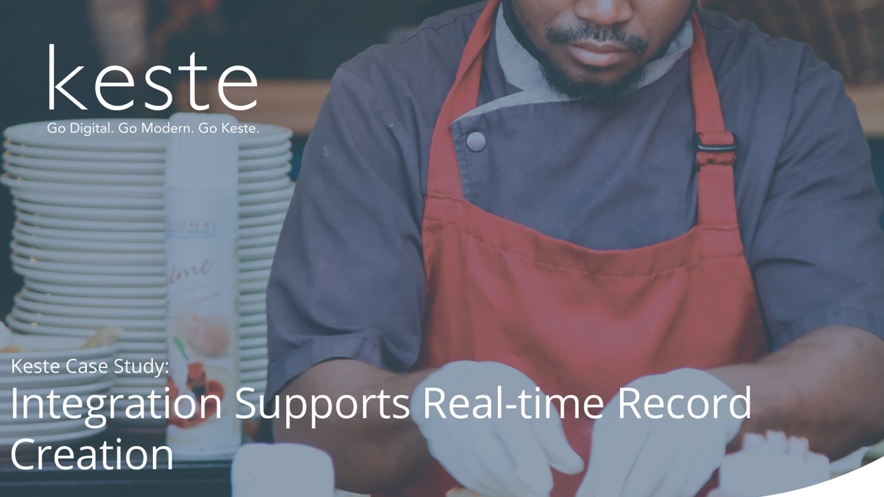 Case Study: Integration Supports Real Time Record Creation
