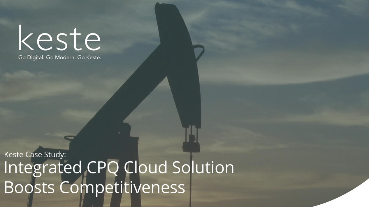 Case Study : Integrated CPQ Cloud Solution Boosts Competitiveness