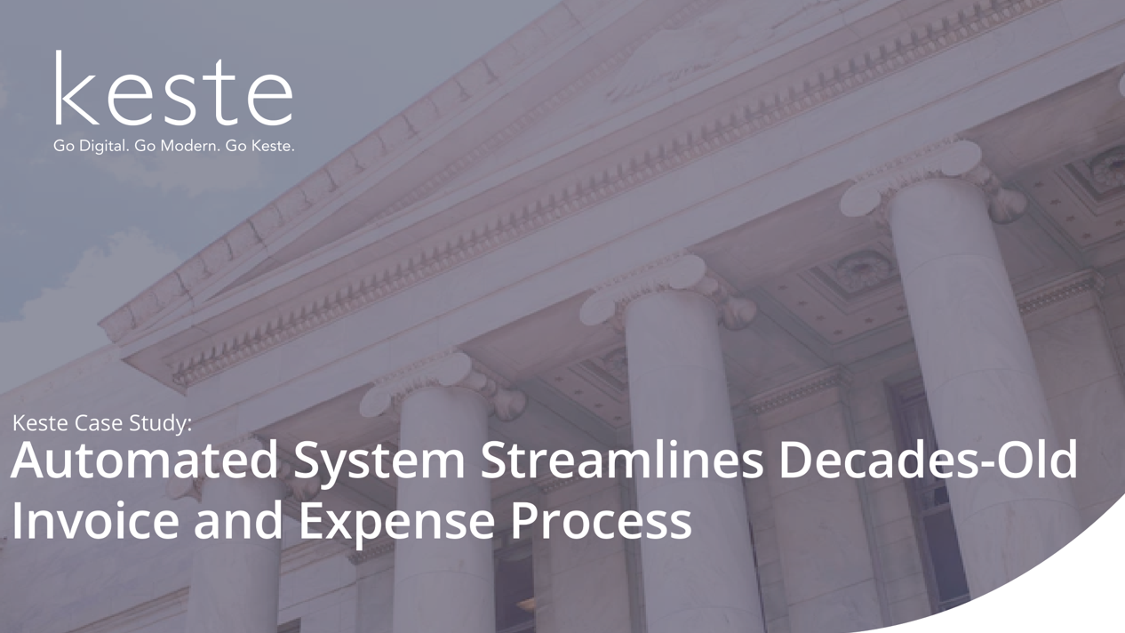 Case Study : Public Sector Automated System Streamlines Business Practices