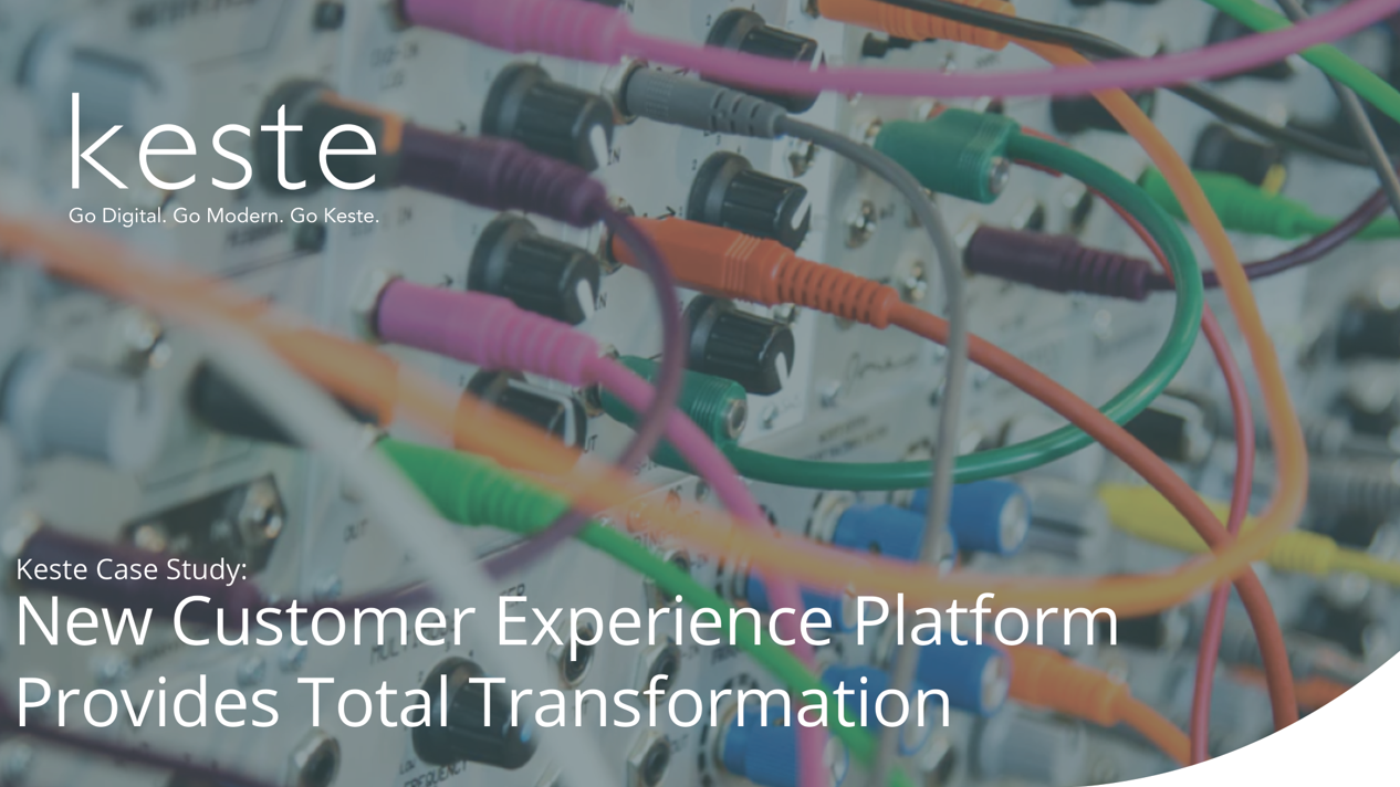Case Study: Customer Experience Platform Total Transformation