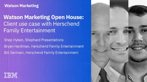 Watson Marketing Open House: Client use case with Herschend Family Entertainment