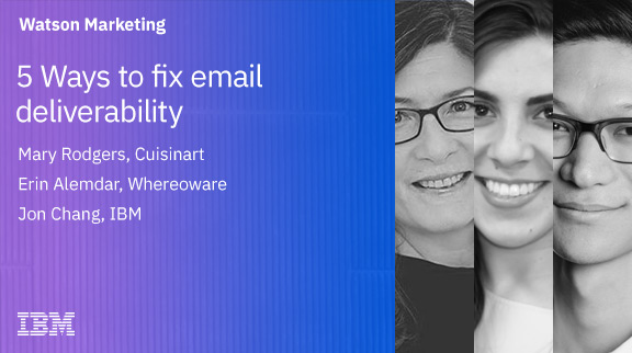 Five Ways to Fix E-mail Deliverability