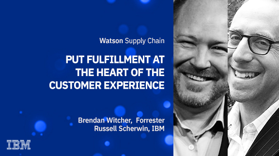Put fulfillment at the heart of the customer experience