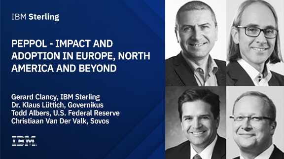 Panel Discussion: PEPPOL - Impact and adoption in Europe, North America and beyond