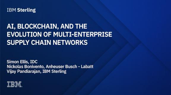 AI, Blockchain, and the Evolution of Multi-Enterprise Supply Chain Networks