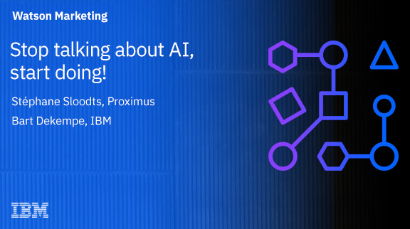 Stop talking about AI, start doing!