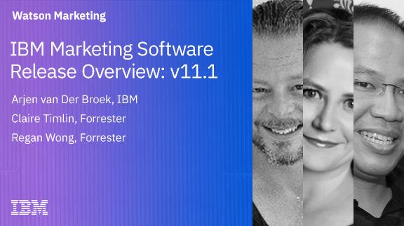 IBM Marketing Software Release Overview: v11.1