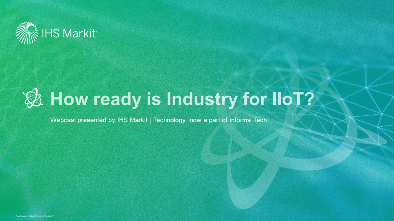 How ready is Industry for IIoT?