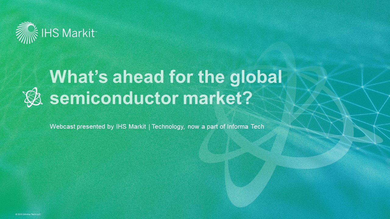 What's ahead for the global semiconductor market?